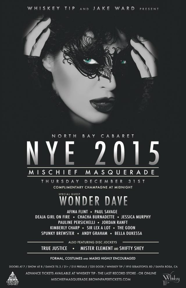 North Bay Cabaret NYE 2015