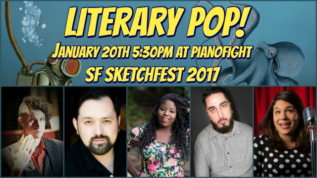 Lit Pop SketchFest 2017