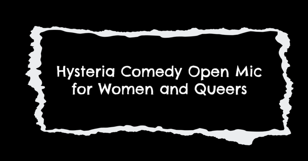 Hysteria Comedy Open Mic Event Cover.png